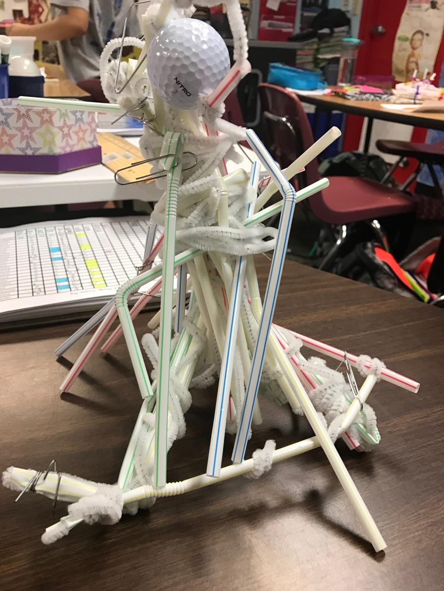 Straw Tower Challenge Design 2
