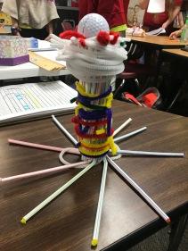 Straw Tower Challenge Design 4